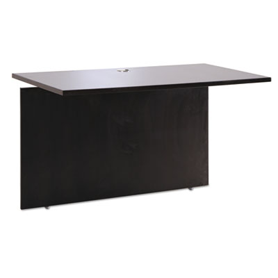Sedina series reversible return/bridge, 42w x 23 5/8d x 29 1/2h, espresso, sold as 1 each
