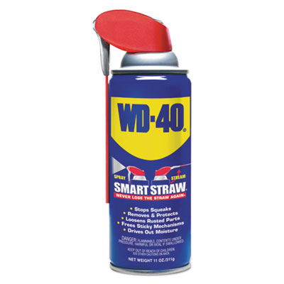 Smart straw spray lubricant, 11 oz aerosol can, sold as 1 each