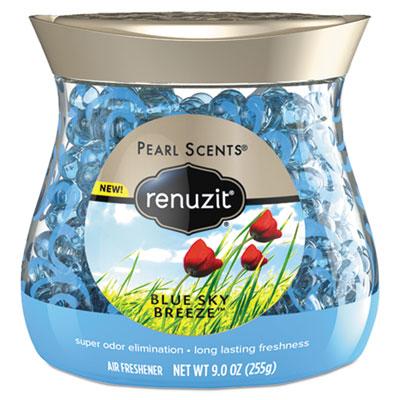 Pearl scents odor neutralizer, blue sky breeze, 9 oz jar, 8/carton, sold as 1 carton, 8 each per carton