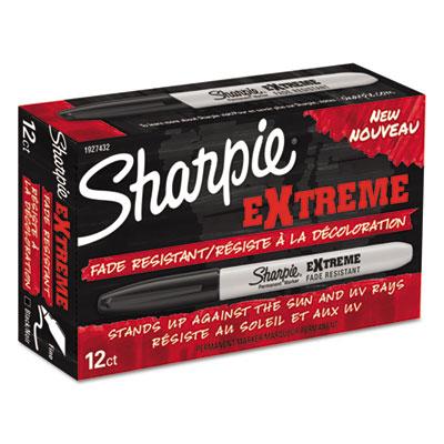 Extreme marker, fine point, black, dozen, sold as 1 dozen