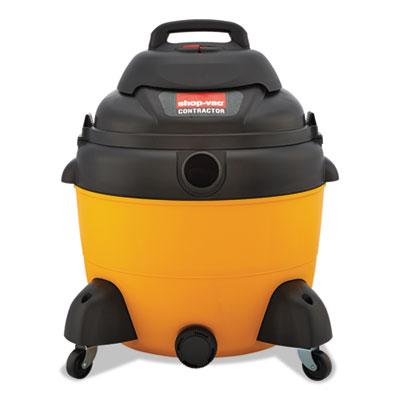 Economy wet/dry vacuum, 16 gal, 120 v, yellow/black, sold as 1 each