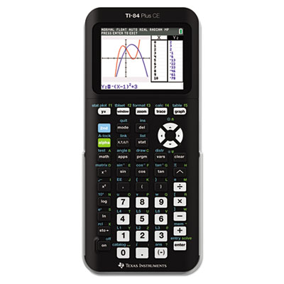 Ti-84plus c silver edition programmable color graphing calculator, sold as 1 each