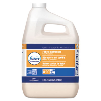 Professional fabric refresher deep penetrating, fresh clean, 1 gal, 3/carton, sold as 1 carton, 3 each per carton
