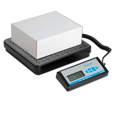 Bench scale with remote display, 400lb capacity, 12 1/5 x 11 7/10 platform, sold as 1 each