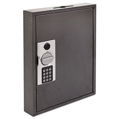 Hercules key cabinets e-lock, 60-key, steel, silver vein, sold as 1 each