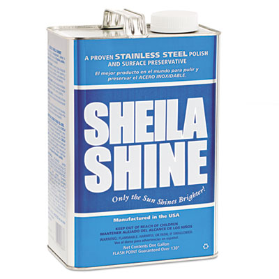 Stainless steel cleaner & polish, 1gal can, sold as 1 each