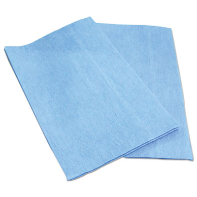 Foodservice wipers, blue, 13 x 21, 150/carton, sold as 1 carton, 150 each per carton