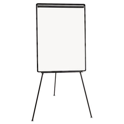 Lightweight tripod style dry erase easel, 29 x 41, white/black, sold as 1 each