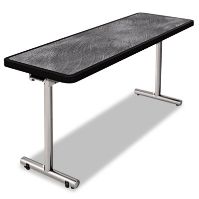 Aero mobile folding table, 60 x 24 x 29, pewter, sold as 1 each