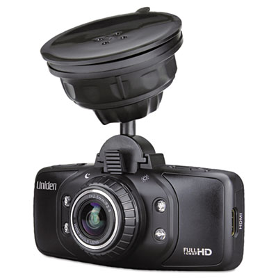 Cam650 dashcam recorder with built-in gps, 1920 x 1080p, 170-degree view angle, sold as 1 each