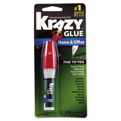 All purpose krazy glue, 3 g, clear, sold as 1 each