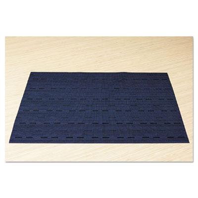 Placemats, 17 x 12, blue, 12/box, sold as 1 carton, 12 each per carton