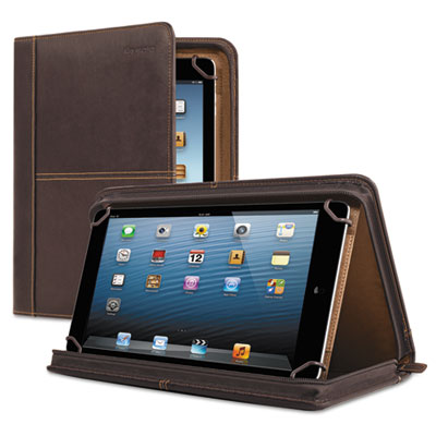 "Premiere leather universal tablet case, fits tablets 8.5"" up to 11"", espresso, sold as 1 each"