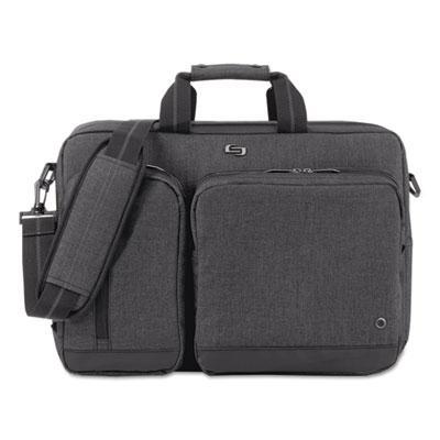 Urban hybrid briefcase, 17 x 4 x 12, gray, sold as 1 each