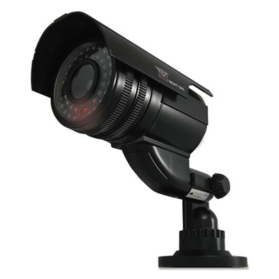 Decoy bullet camera with flashing led light, black, sold as 1 each