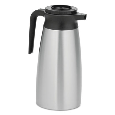 1.9 liter thermal pitcher, stainless steel, sold as 1 each