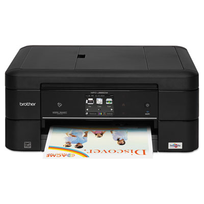 Mfc-j885dw work smart color wireless inkjet all-in-one, copy/fax/print/scan, sold as 1 each