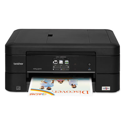 Mfc-j680dw work smart color wireless inkjet all-in-one, copy/fax/print/scan, sold as 1 each