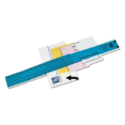 Left-handed all-purpose sorter, 31 dividers, blue, sold as 1 each