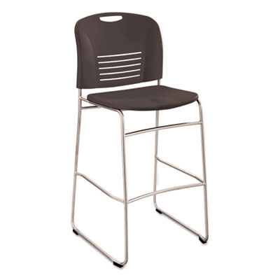 Vy sled base bistro chair, black, sold as 1 each