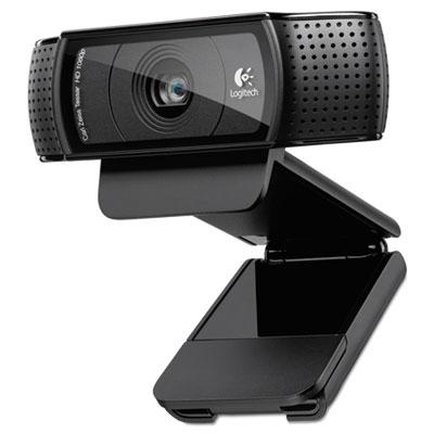 C920 hd pro webcam, 1080p, black, sold as 1 each