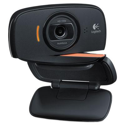 Webcam c525,720p hd, 8mp, black/silver, sold as 1 each