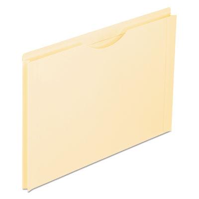 "Reinforced top tab file jacket, 1"" expansion, legal, manila, 50/box, sold as 1 box, 50 each per box"