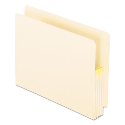 Convertible file, straight cut, 3 1/2 inch expansion, letter, manila, 25/box, sold as 1 box, 25 each per box