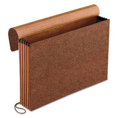 Standard expanding wallet, straight cut, 1 pocket, legal, redrope, sold as 1 each
