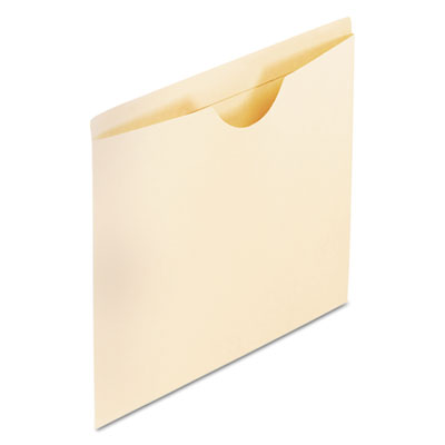 Reinforced top tab file jackets, flat, letter, manila, 100/box, sold as 1 box, 100 each per box