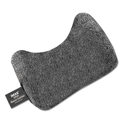 Mouse wrist cushion, gray, sold as 1 each