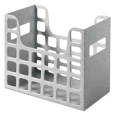 Decoflex letter size desktop hanging file, plastic, 12 1/4 x 6 x 9 1/2, granite, sold as 1 each
