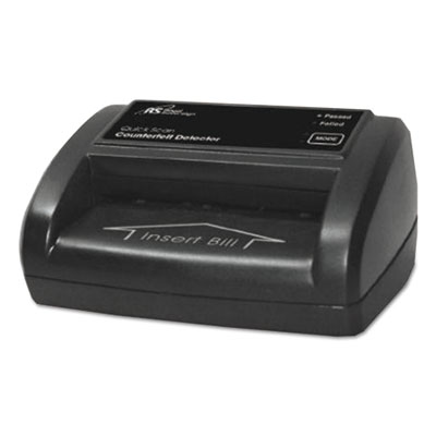 Portable four-way counterfeit detector, 5 x 3 1/2 x 2 3/8, black, sold as 1 each