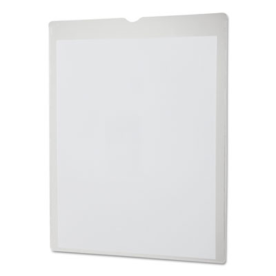 Utili-jacs heavy-duty clear plastic envelopes, 8 1/2 x 11, letter, 50/box, sold as 1 box, 50 each per box