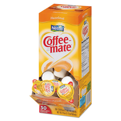 Hazelnut creamer, .375oz, 50/box, sold as 1 box, 50 package per box