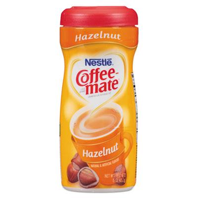 Non-dairy powdered creamer, hazelnut, 15 oz canister, 12/carton, sold as 1 carton, 12 each per carton