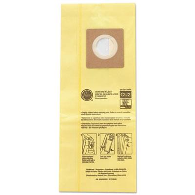 Hushtone vacuum bags, yellow, 10/pk, sold as 1 package