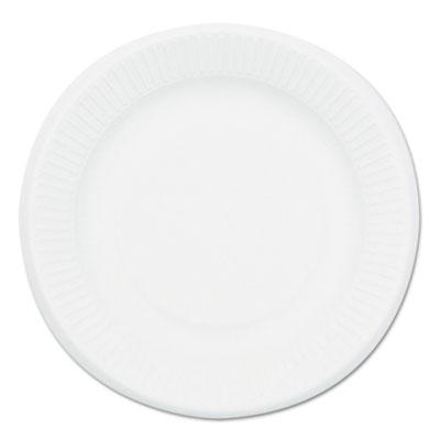 Compostable sugarcane bagasse 7 in plate, round, white, 1,000/carton, sold as 1 carton, 1000 each per carton