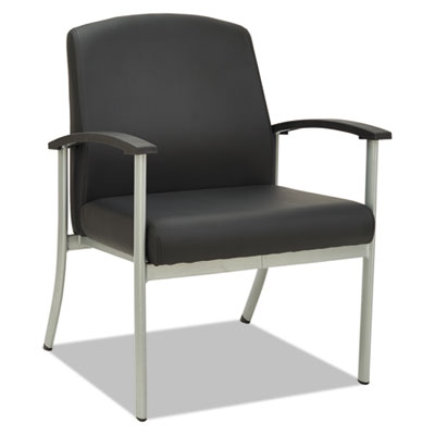 Metalounge series guest chair, 25 5/8 x 26 3/8 x 34 5/8, black, sold as 1 each