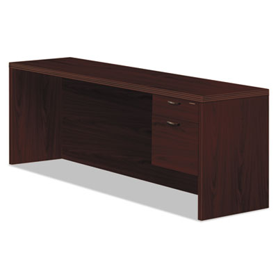 Valido 11500 series right pedestal credenza, 72w x 24d x 29-1/2h, mahogany, sold as 1 each