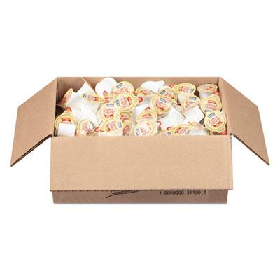 Liquid coffee creamer, original, 0.375 oz mini-cups, 180/box, 2 box/carton, sold as 1 carton, 360 each per carton