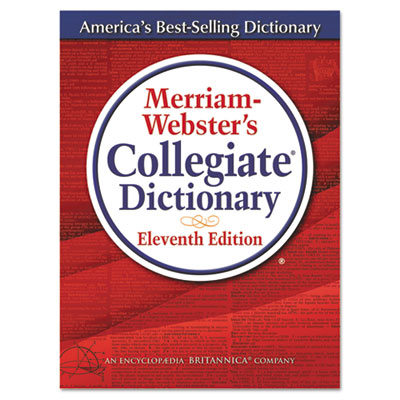Merriam-webster?s collegiate dictionary, 11th edition, hardcover, 1,664 pages, sold as 1 each