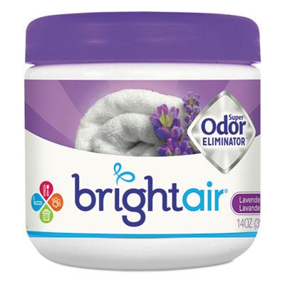 Super odor eliminator, lavender and fresh linen, purple, 14oz, 6/carton, sold as 1 carton, 6 each per carton