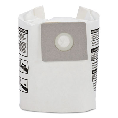 Disposable collection filter bags, fits 2-2.5 gallon tanks, 3/pack, sold as 1 package
