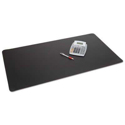 Rhinolin ii desk pad with microban, 24 x 17, black, sold as 1 each