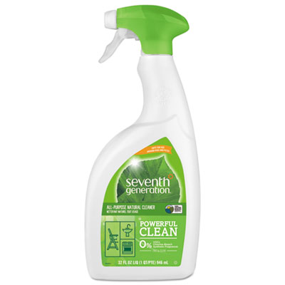Natural all-purpose cleaner, free & clear, 32 oz spray bottle, sold as 1 each