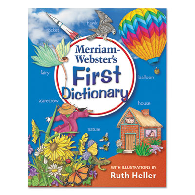 First dictionary, ages 5-7, laminated hardcover, 448 pages, sold as 1 each
