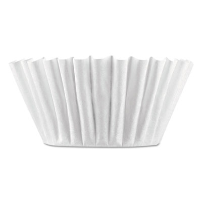 Coffee filters, 8/10-cup size, 100/pack, 12 packs/carton, sold as 1 carton, 12 package per carton