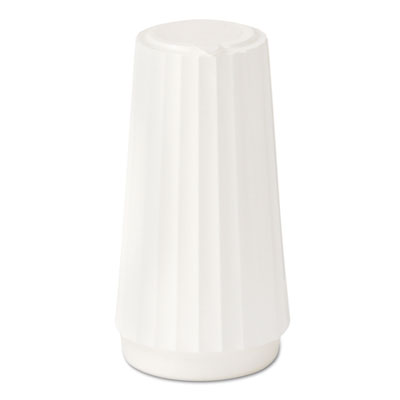 Classic white disposable salt shakers, 4 oz, 48/case, sold as 1 carton, 48 each per carton