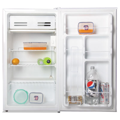 3.3 cu. ft. refrigerator with chiller compartment, white, sold as 1 each